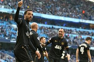 Manchester City 1-2 Wigan: Lightning strikes twice as Perch stuns Pellegrini's men