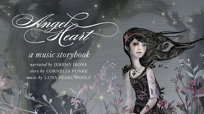 """This image provided by 21C Media Group shows the album cover art of """"Angel Heart"""". Actor Chris Noth is appearing in New York City at Carnegie's Zankel Hall on Monday, Oct. 21, 2013 for the show called """"Angel Heart. He's narrating the family concert based on a new CD storybook. It's about a girl whose heart is broken then healed on a journey with some fantastical creatures. The story by best-selling children's writer Cornelia Funke comes with songs created for voices, cellos and mandolins by Luna Pearl Woolf. (AP Photo/21C Media Group)"""