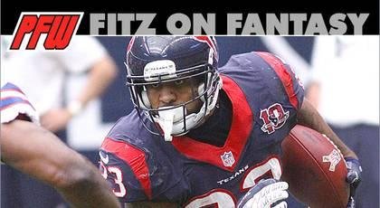 Texans need big game from Foster vs. Patriots