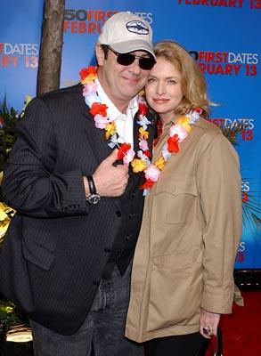 Premiere: Dan Aykroyd and Donna Dixon at the LA premiere of Columbia's 50 First Dates - 2/3/2004