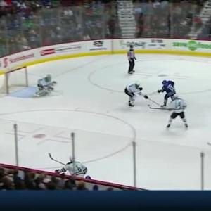 Kari Lehtonen Save on Chris Higgins (05:55/1st)