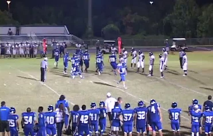 The arrest of running back TreVante Taylor marred Lake Weir's game against Citrus High — Hudl