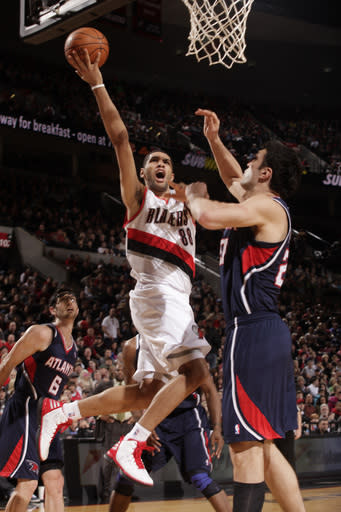 Blazers beat Hawks 97-77 to end home losing streak