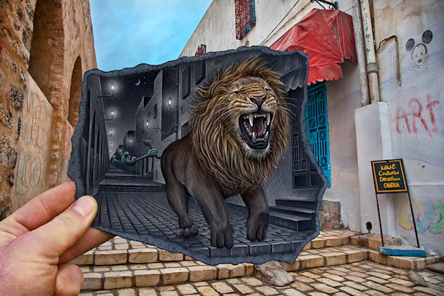 Pencil Vs Camera - Amazing art by Belgian artist BenHeine