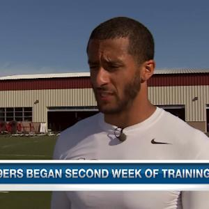 San Francisco 49ers quarterback Colin Kaepernick's hunger to win it all