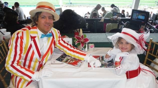 Larry Birkhead and Dannielynn Birkhead attend the 139th Kentucky Derby at Churchill Downs on May 4, 2013 in Louisville, Kentucky -- Access Hollywood