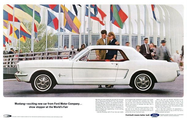 Ford Mustang at 1964 World's Fair