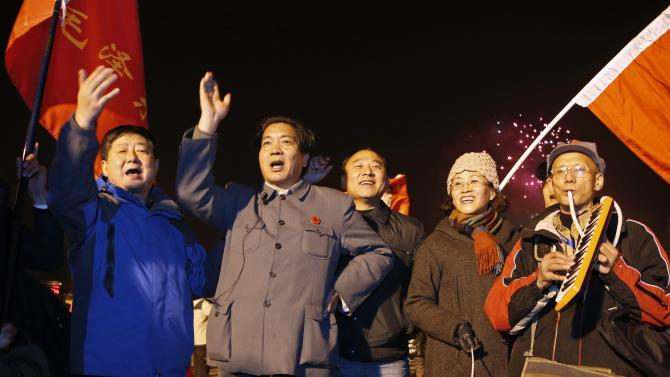 Celebrations ahead of the 121st anniversary of Mao's birth in Shaoshan, Hunan province