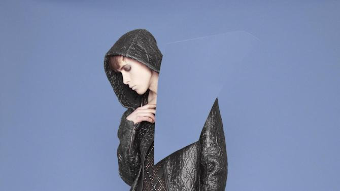 Designs by Kim Choong-Wilkins, who  is in the running for a prize at Hyères 2012