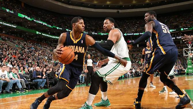 George's 25 points lead Pacers over Celtics 102-97