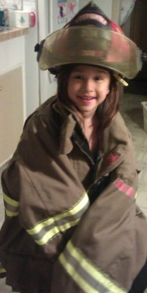 First Person: The Firefighter's Thanksgiving Princess