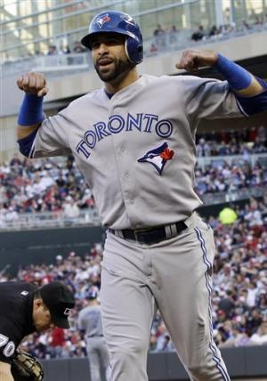 Bautista homers again as Blue Jays top Twins 2-1