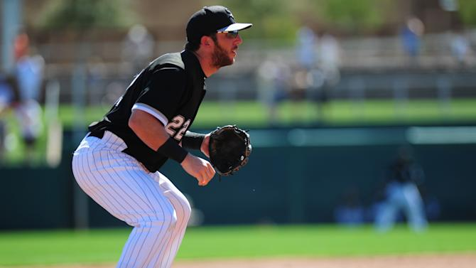 MLB: Spring Training-Cleveland Indians at Chicago White Sox