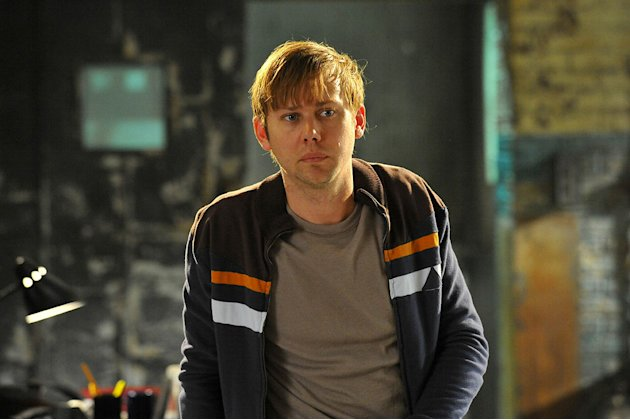 "Jimmi Simpson as Lloyd Lowery in ""Breakout Kings."""
