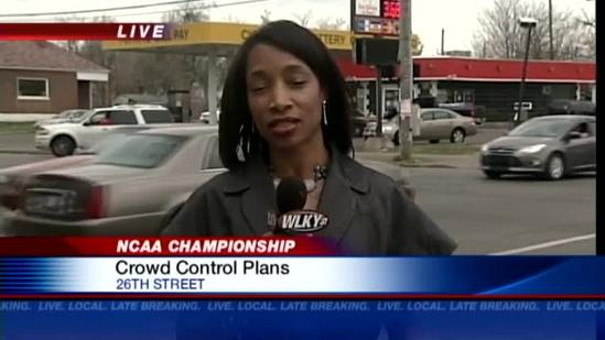 LMPD prepares for potentially unruly basketball fans