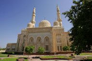 uilt in the medieval Fatimid style popular in Egypt and Syria, the mosque is considered a masterpiece of Islamic architecture.