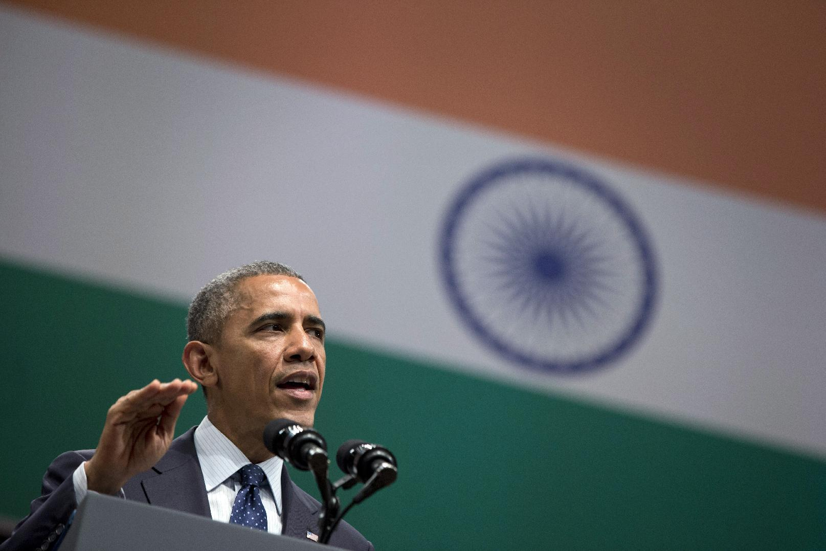 Obama promotes religious and gender equity in India speech