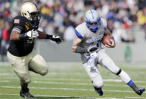 Steelman paces Army over Air Force 41-21