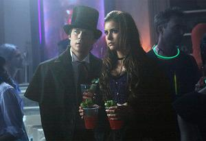 Ian Somerhalder,  Nina Dobrev | Photo Credits: Annette Brown/ The CW