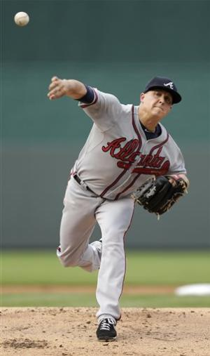 Medlen, Heyward lead Braves past Royals, 4-3