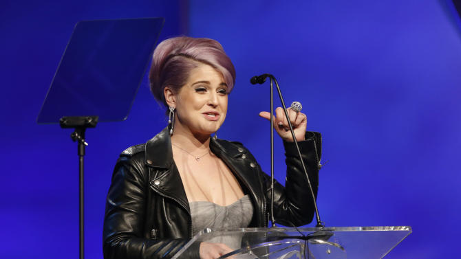 """Kelly Osbourne attends the 20th Annual Race to Erase MS Event """"Love to Erase MS"""" at the Hyatt Regency Century Plaza on Friday, May 3, 2013 in Los Angeles. (Photo by Todd Williamson/Invision/AP)"""