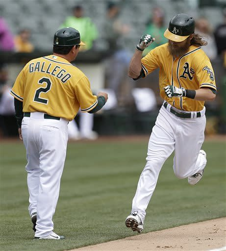 A's spoil Maurer's debut for Mariners with 8-2 win