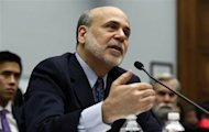 Chairman of the U.S. Federal Reserve Ben Bernanke speaks before the House Committee on Financial Services on Capitol Hill in Washington, February 27, 2013. REUTERS/Larry Downing