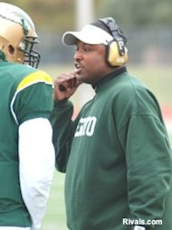 DeSoto football coach Claude Mathis