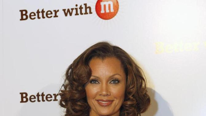 "IMAGE DISTRIBUTED FOR MARS CHOCOLATE NORTH AMERICA - Vanessa Williams, voice of the sixth M&M'S character, Ms. Brown, makes an appearance at the ""Better With M"" Kick-Off Event on Thursday, Jan. 31, 2013 in New Orleans. (Jonathan Bachman/AP Images for Mars Chocolate North America)"