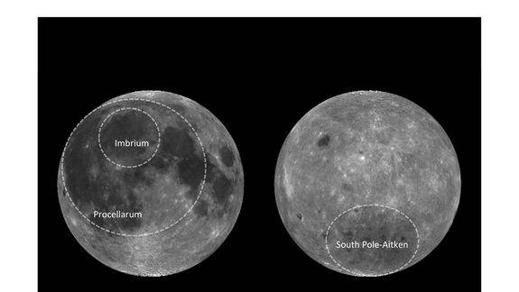 Moon's Mysterious 'Ocean of Storms' Explained