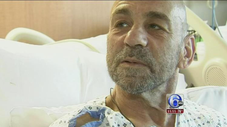 Cancer survivor who collapsed thanks runners