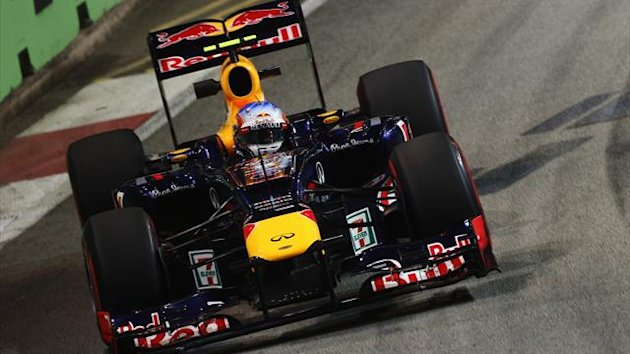 2012 Singapore GP Red Bull Webber