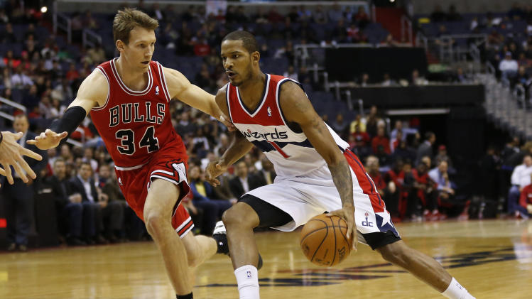 NBA: Chicago Bulls at Washington Wizards