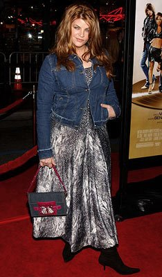 Kirstie Alley at the Hollywood premiere of MGM's Be Cool