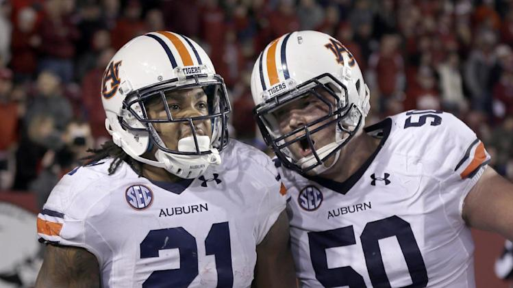 Running game fueling No. 7 Auburn's rise