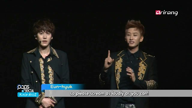 Pops in Seoul : Super Junior (Sexy, Free & Single)