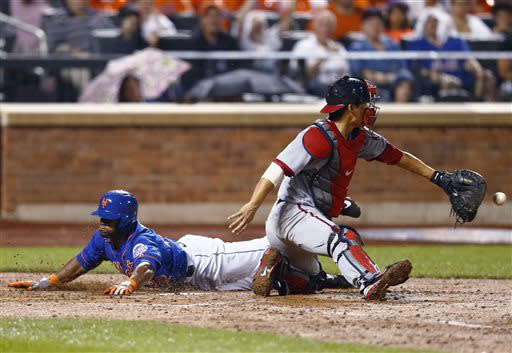 Nationals rally after Harvey departs, beat Mets