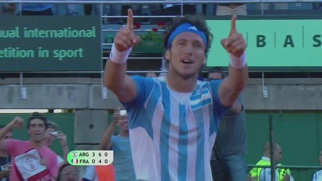 Day one as Argentina host France in Davis Cup World Group quarters