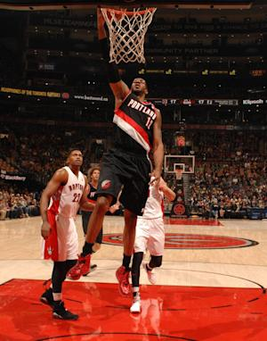 Blazers beat Raptors in OT for 6th straight win