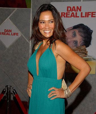 Tia Carrere at the Los Angeles premiere of Touchstone Pictures' Dan in Real Life