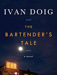 "This book cover image released by Riverhead Books shows ""The Bartender's Tale,"" by Ivan Doig. (AP Photo/Riverhead Books)"