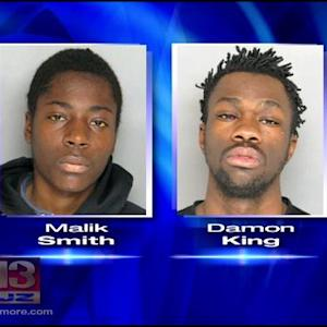 Police Arrest 2 Men In Connection With Towson Town Armed Robbery