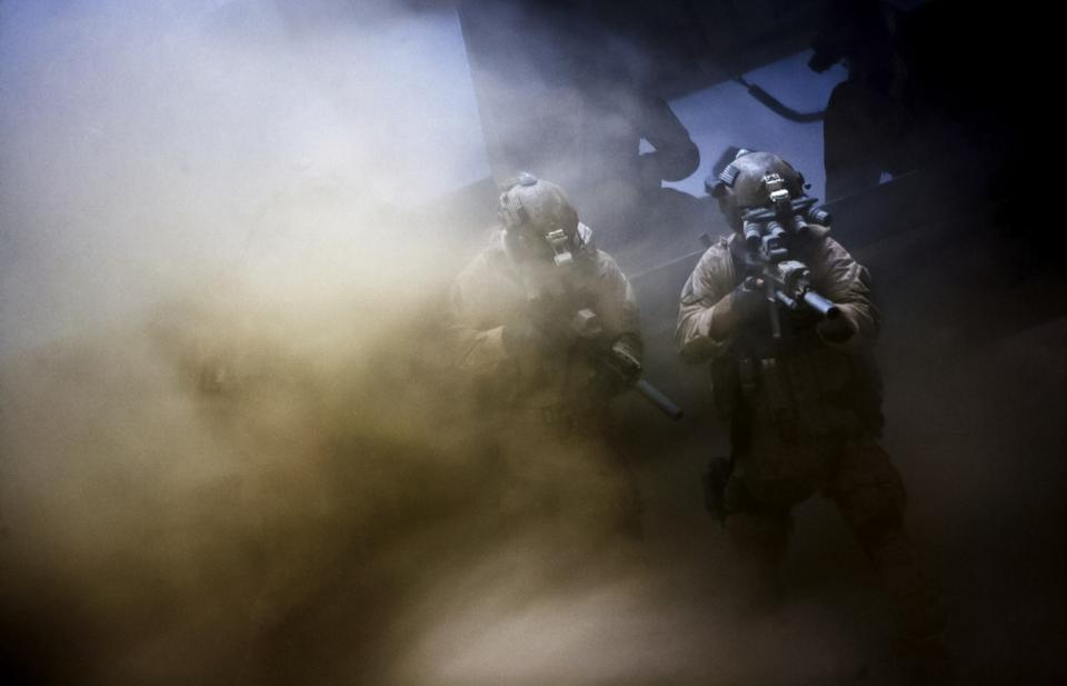 "This film image released by Columbia Pictures shows a scene from ""Zero Dark Thirty,"" directed by Kathryn Bigelow.   (AP Photo/Sony - Columbia Pictures)"