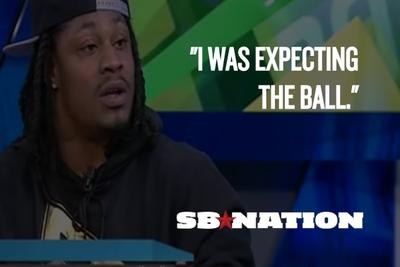 Marshawn Lynch finally talked about the Super Bowl's last play ... on Turkish television