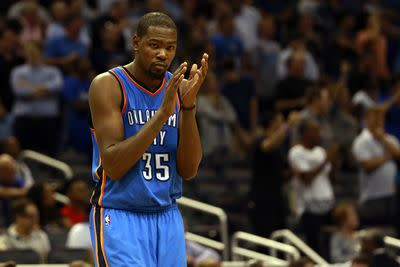 Kevin Durant to return from hamstring injury vs. Jazz