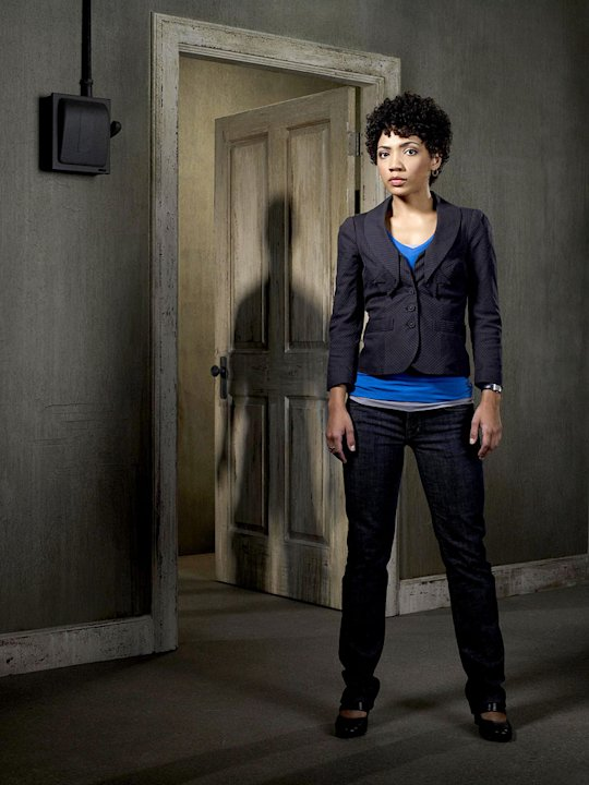 Jasika Nicole as Astrid Farnsworth in the Fox series Fringe