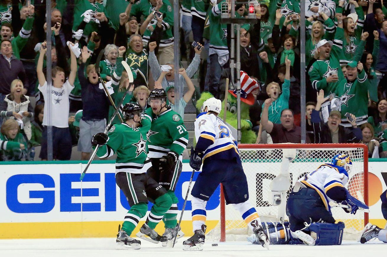 Blues vs. Stars results, NHL playoffs 2016: Strong start for Dallas with 2-1 victory