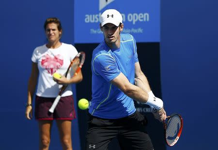 Murray, Djokovic both bidding for firsts in Australia