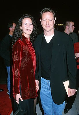 Premiere: Judge Reinhold and his wife at the Beverly Hills premiere of Miramax Films' Chocolat - 12/11/2000