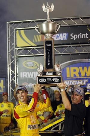 Logano edges Keselowski for first win at Bristol